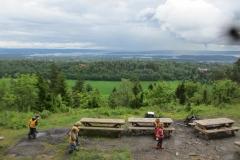 Flott utsikt fra KIF hytta