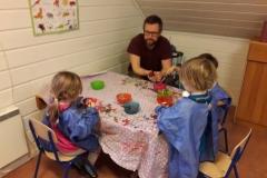 Juleforberedelser på Blåveisen