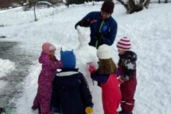 Endelig kram snø!