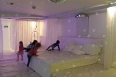 Hvitt rom som skal skape ro