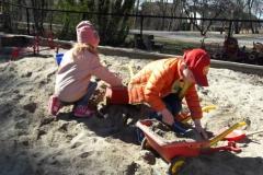 Lek og læring i sandkassen