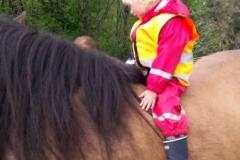 På hesteryggen før første gang?