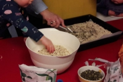 Hvitveisen lager granola