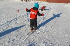 Skiskole i strålende vær