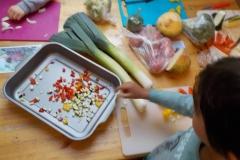 Grønnsakssuppe - alle er med å lage