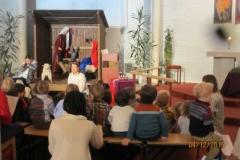 Kirkebesøk i Helgerud kirke 04.12