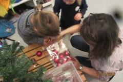 Juleforberedelser med gode hjelpere