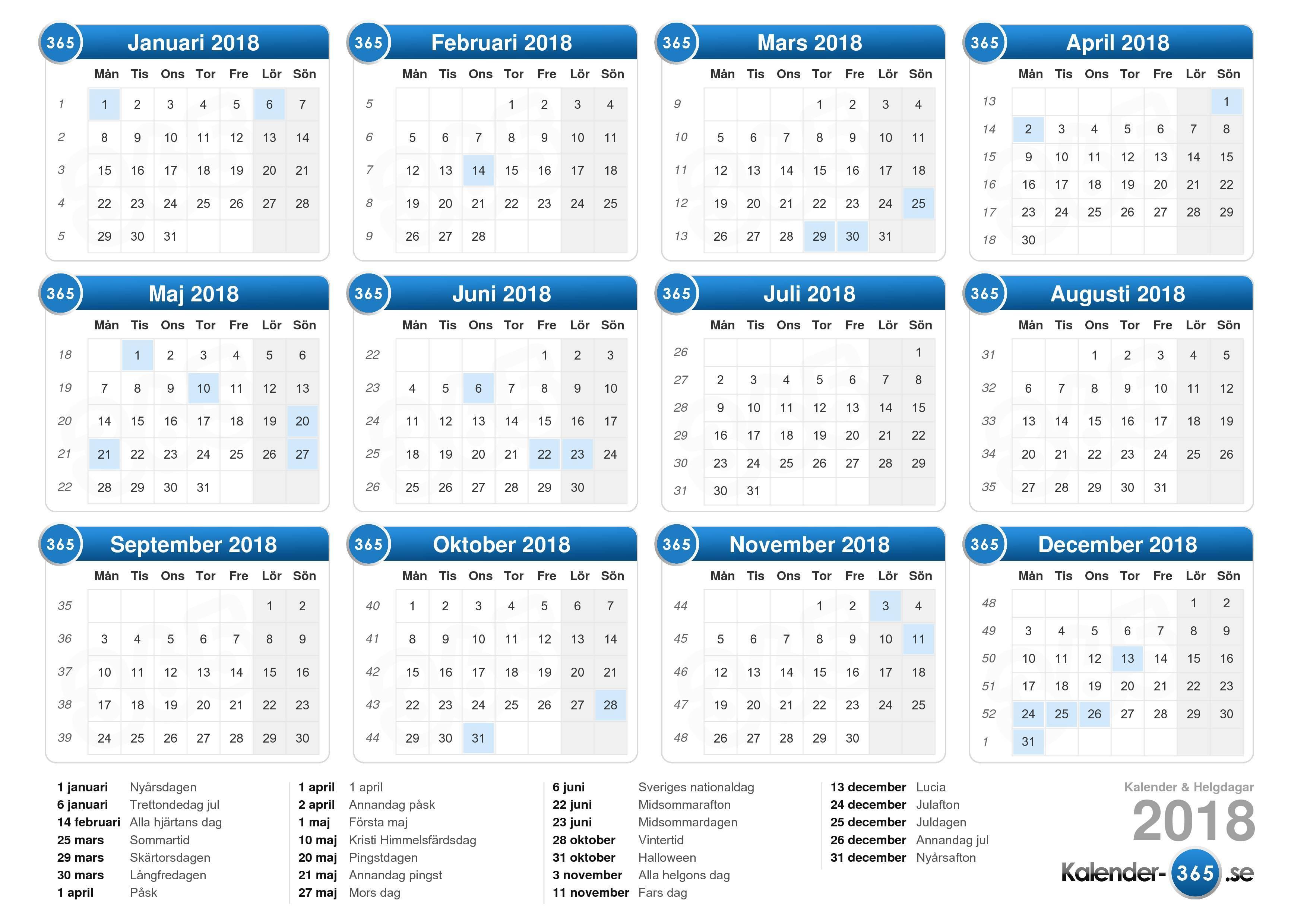 Kalender/påmeldinger