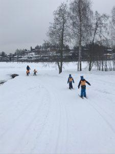 Vinterbilder fra Blåveiskroken